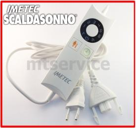 Comando scaldasonno imetec c33010 sensitive programmabile h56a1