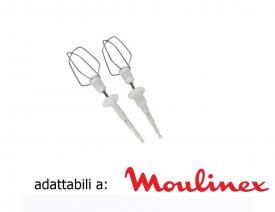 Coppia fruste sbattitore per moulinex major blcm01