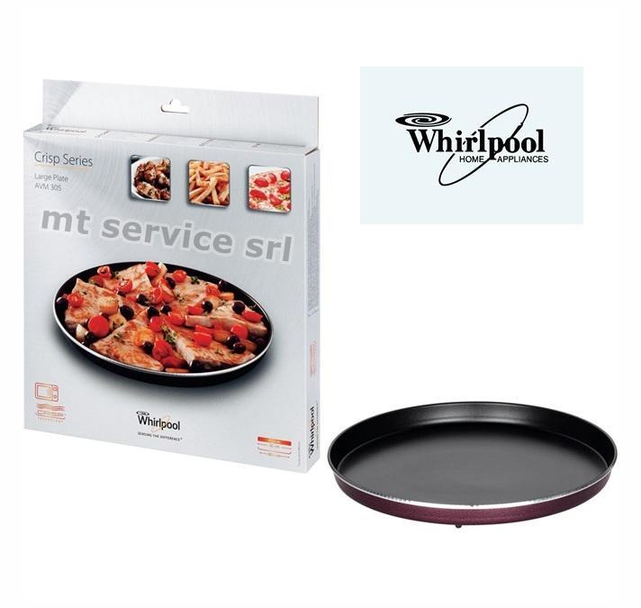 Whirlpool piatto crisp per forno a microonde avm305 30 5cm - Forno a microonde con crisp ...
